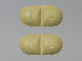 Trileptal 150 mg tablet
