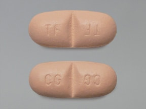 Trileptal 600 mg tablet