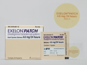 Exelon Patch 4.6 mg/24 hr transdermal