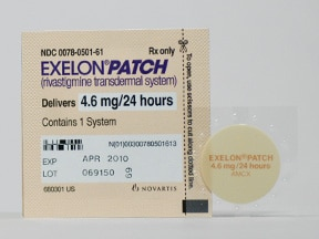 Exelon patch doses