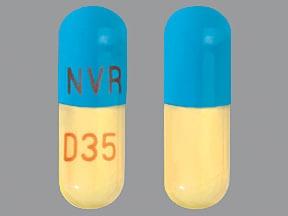 dexmethylphenidate ER 35 mg capsule,extended release biphasic50-50