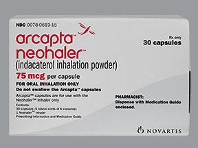 Arcapta Neohaler 75 mcg capsule with inhalation device