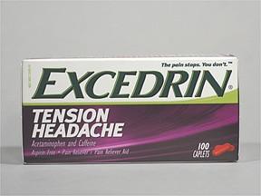 Excedrin Tension Headache 500 mg-65 mg tablet