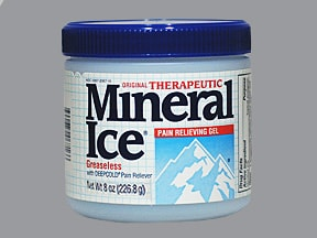 Therapeutic Mineral Ice 2 % topical gel