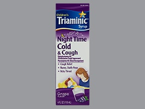 Triaminic Cold and Cough Night Time(PE)6.25 mg-2.5 mg/5 mL oral liquid