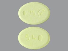 pramipexole 0.75 mg tablet