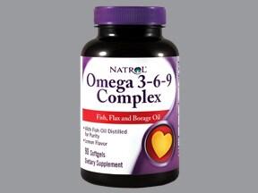 Omega 3-6-9 Complex 400 mg-400 mg-400 mg capsule
