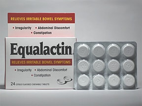 Equalactin 500 mg chewable tablet