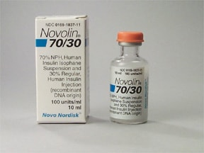 Novolin 70/30 100 unit/mL subcutaneous suspension