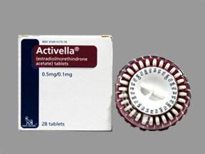 Activella 0.5 mg-0.1 mg tablet