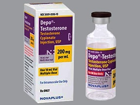 Depo-Testosterone 200 mg/mL intramuscular oil