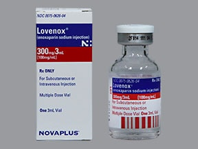 Lovenox 300 mg/3 mL subcutaneous solution
