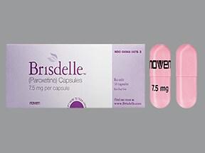 Brisdelle 7.5 mg capsule