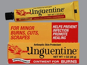Unguentine 6.6%-3 %-2.5 %-2.2 % topical ointment
