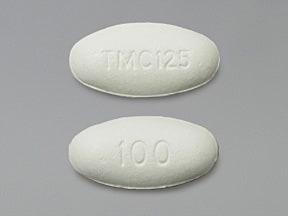Intelence 100 mg tablet
