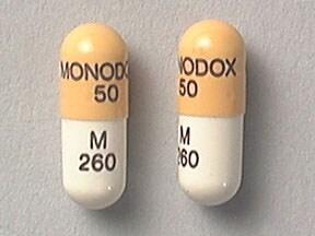 Monodox 50 mg capsule