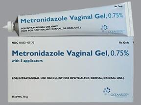 metronidazole 0.75 % vaginal gel
