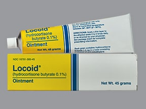 Locoid 0.1 % topical ointment