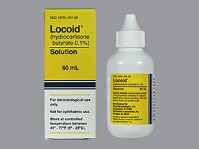 Locoid 0.1 % topical solution