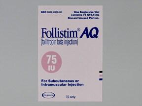 Follistim AQ 75 unit/0.5 mL injection solution