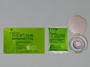 Ortho Micronor 0.35 mg tablet