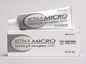 Retin-A Micro 0.04 % topical gel