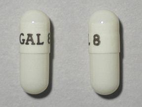 Razadyne ER 8 mg capsule,extended release
