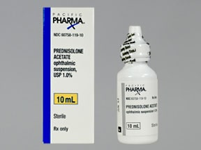 Prednisolone Ophthalmic Dosage
