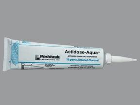Actidose-Aqua 25 gram/120 mL oral suspension