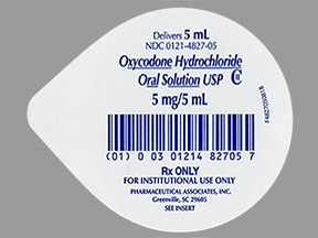 oxycodone 5 mg/5 mL oral solution