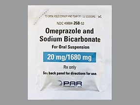 omeprazole 20 mg-sodium bicarbonate 1,680 mg oral packet