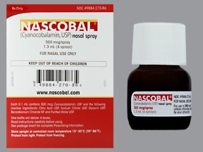 Nascobal 500 mcg/spray nasal spray