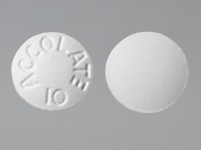 Accolate 10 mg tablet