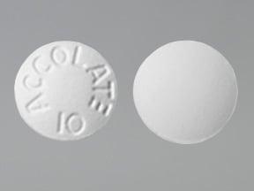 zafirlukast 10 mg tablet