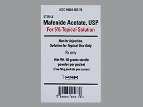 mafenide 50 gram topical packet