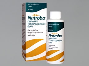 Natroba 0.9 % topical suspension