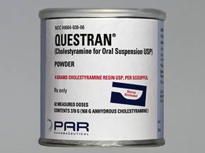 Questran 4 gram oral powder