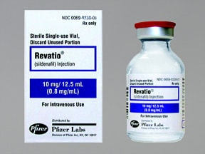 Revatio intravenous package insert