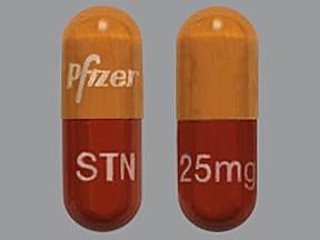 Sutent 25 mg capsule