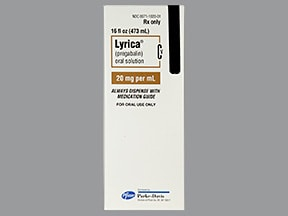 Lyrica 20 mg/mL oral solution