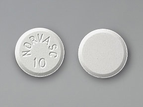 Norvasc 10 mg tablet