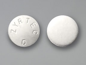 Zyrtec-D 5 mg-120 mg tablet,extended release