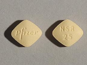 Inspra 25 mg tablet