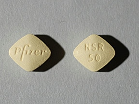 Inspra 50 mg tablet