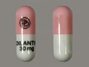Dilantin 30 mg capsule