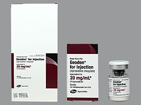 Geodon 20 mg/mL (final concentration) intramuscular solution