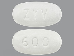 Zyvox 600 mg tablet
