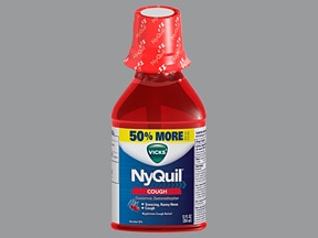 Vicks NyQuil Cough 6.25 mg-15 mg/15 mL oral solution