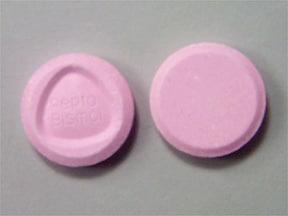 Pepto-Bismol 262 mg chewable tablet