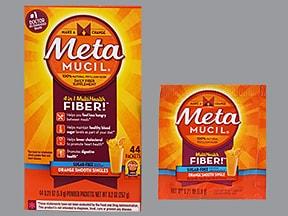 Metamucil Fiber Singles 3.4 gram oral powder packet